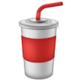 Cup With Straw (Samsung One UI 1.5)
