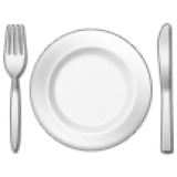 Fork and Knife With Plate (Samsung One UI 1.5)