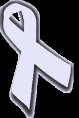 Lavender awareness ribbon