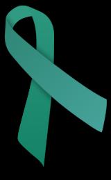 Jade awareness ribbon
