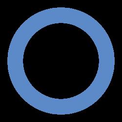 Blue circle for Diabetes
