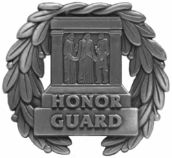 Tomb of Unknown Soldier Guard Identification Badge
