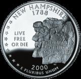 New Hampshire (50 State Quarter)
