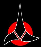 The Klingon insignia