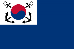 Naval ensign and jack (South Korea)