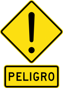 General Warning Sign - Chile