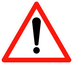 General Warning Sign - France