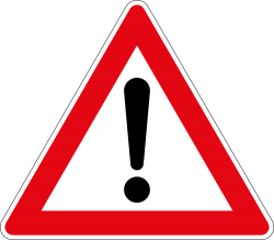 General Warning Sign - Germany