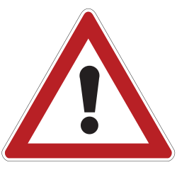 General Warning Sign - Russia, Belarus