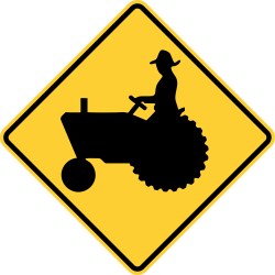 Tractor\Farm Vehicle Crossing