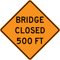 Bridge Closed Ahead