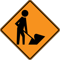 Workers on the Road