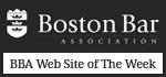 Boston Bar Association - BBA Web Site of The Week